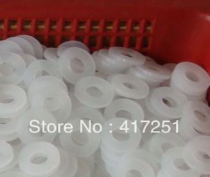 Гаджет  50/pk Strandard Metric Nylon Flat Thick Washers M5(ID) x 10(OD) x 1mm Thick None Аппаратные средства