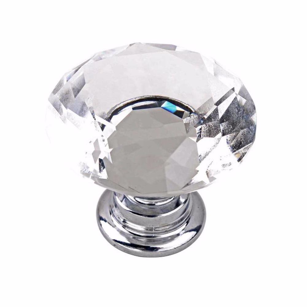 KA00800-D-400-1Crystal Glass Knob