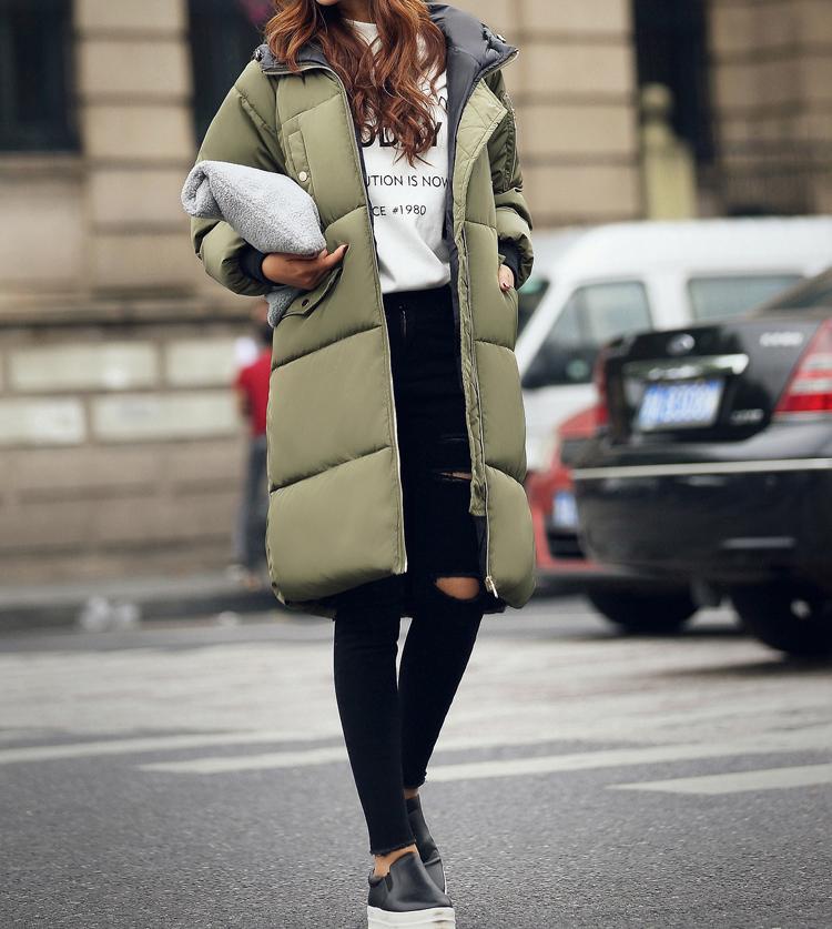 Women Winter Parka 2015 Winter New Fashion Womens Warm Hooded Long Jacket Parkas Plus Size L-3XL Cotton Down Jackets #p511
