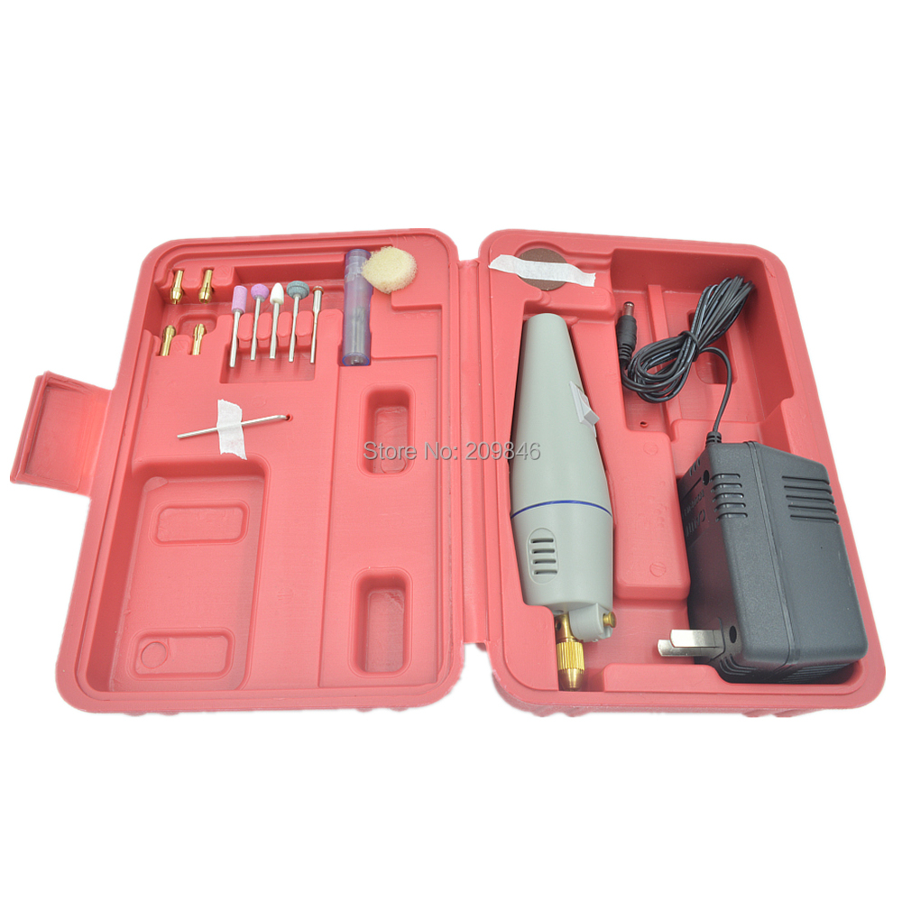 Hot Sale WLXY Mini Drill Set Drill Grinder Kit Micro-drill Toolbox Drilling, Grinding Powerful Tool(China (Mainland))
