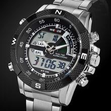 2017 haut de gamme marque WEIDE hommes mode sport montres hommes Quartz horloge LED homme armée militaire montre-bracelet Relogio Masculino(China)