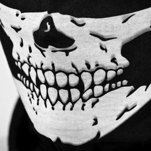 Skull Bandana Bike Motorcycle Helmet Neck Face Mask Paintball Ski Sport Headband skull mask warmer face mask(China (Mainland))
