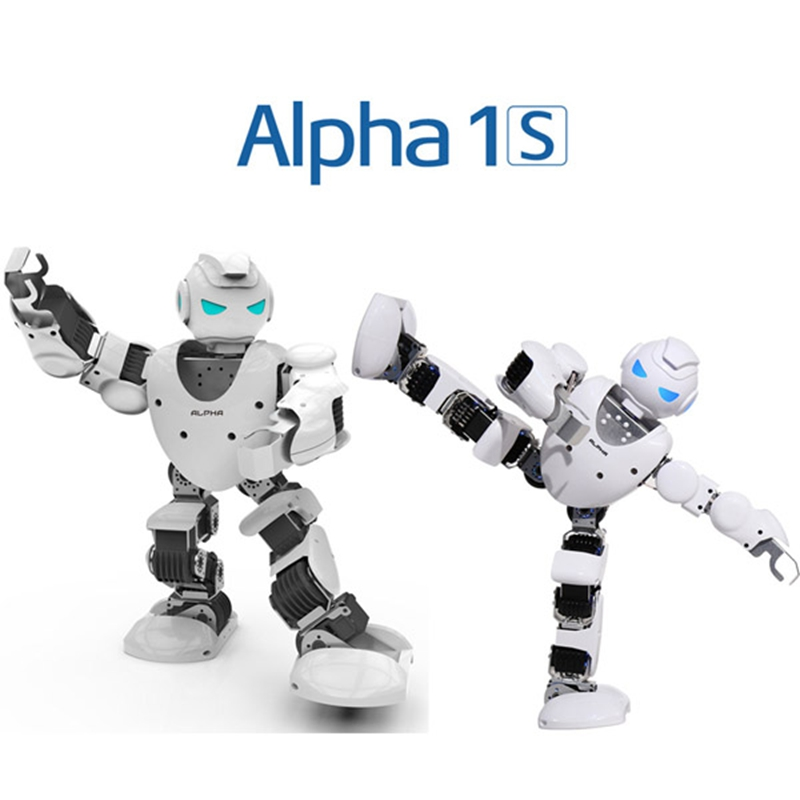 UBTECH Alpha 1s 3D Programmable Humaniod Robot For Intelligent Life Companion Entertainment Educational RC Robot Action Figure(China (Mainland))