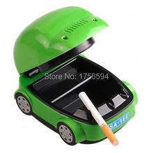 Novelty Car Shaped USB Smokeless Ashtray Home Office New Air Purifier  Ashtray(China (Mainland))