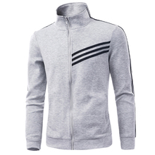 Buy 2016 New Arrival Fashion Men Sweatshirt Striped Sweatshirts Coat Active Jacket Mens Cardigan Tracksuit 13M0329 for $63.98 in AliExpress store