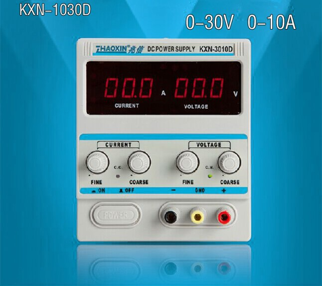KXN-3010D Adjustable Regulators DC Power Supply 0-30V 0-10A Electroplating Power Constant Current Source(China (Mainland))