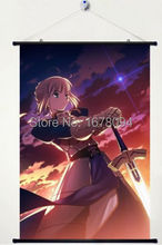 fate stay night UBW Unlimited Blade Works saber Wall Scroll Poster