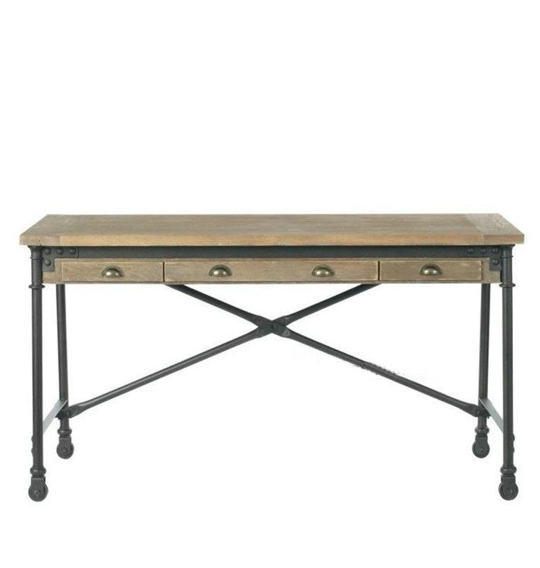 american retro style industrial furniture desk. modern american retro style industrial furniture desk country wrought for creativity design f