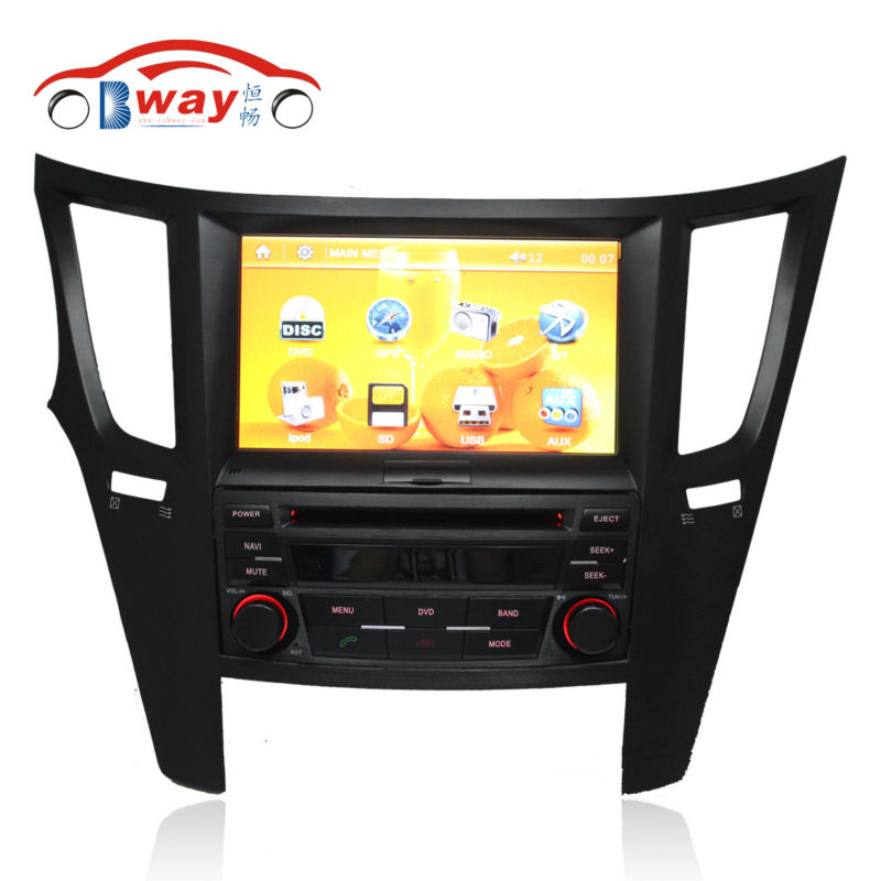 """Free Shipping 8"""" Car radio For Subarui Legacy outback car dvd player with Bluetooth SD USB,steering wheel Free 8GB map card(China (Mainland))"""
