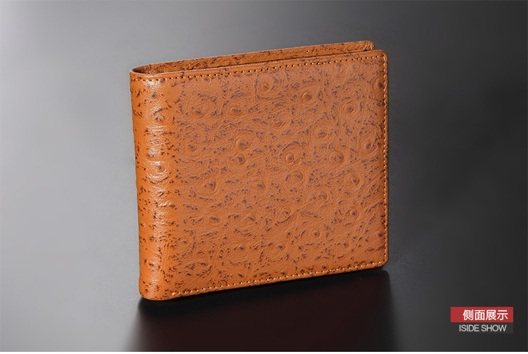 Ostrich Wallet With Money Clip Money Clip Wallet For Men