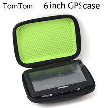 Free shipping TomTom gps case 6 inch, navigation protection package, waterproof  6 inch gps case(China (Mainland))