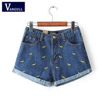 Nowa wiosna 2018 moda szorty kobiet denim kobiece szorty stałe niebieski krótkie Jeans hole styl darmowa wysyłka kobiety szorty lato(China)
