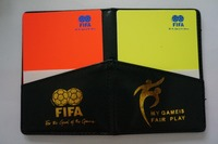 Soccer Football Referee Cards Wallet,Referee Wallet with Yellow and Red Warning Cards,Judge Cards 5packs/lot