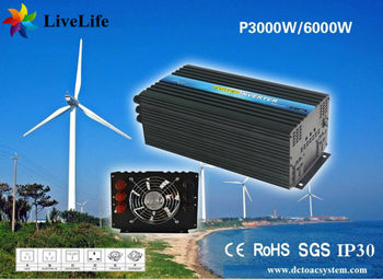 LiveLife 3000w max 6000w pure sine wave power inverter 12v DC to AC 110v 120v