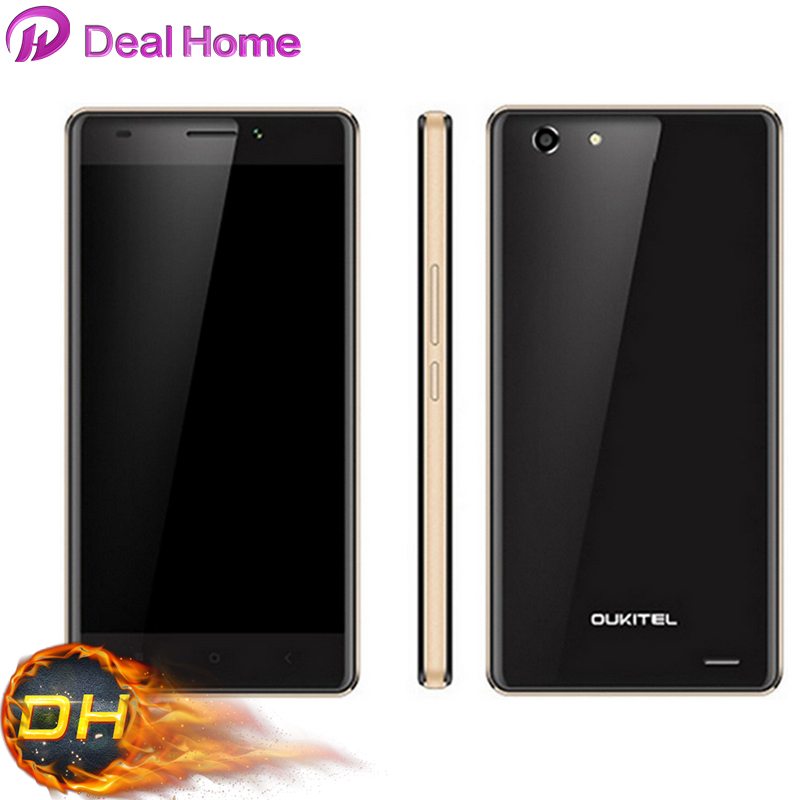 In stock!Original OUKITEL U2 MTK6735 Quad Core 1.0Ghz 4G LTE Android 5.1 64bit 5.0 inch Smartphone 1GB RAM 8GB ROM Black(China (Mainland))