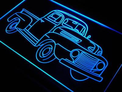 j682-b Truck Car Auto Repair Display LED Neon Light Sign Wholesale Dropshipping(China (Mainland))