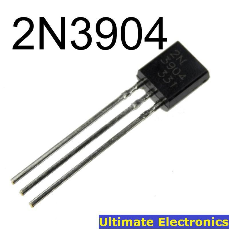 100pcs 2N3904 TO-92 NPN General Purpose Transistor(China (Mainland))