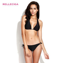 RELLECIGA Vintage String Rikini Swimwear Underwear Women Swimwear Bikini Set(China (Mainland))