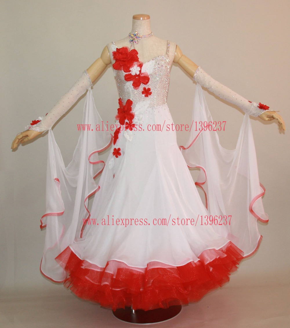 Ballroom Dresses China Lady Salsa Latin Samba Rumba Chacha Dance Competition Dress