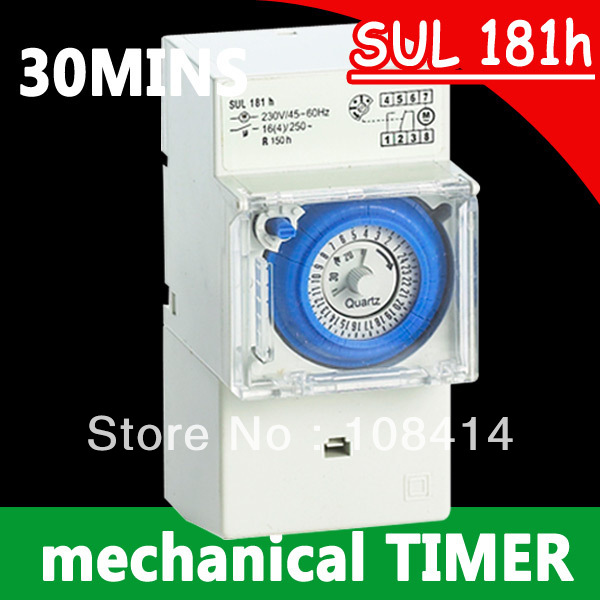 Гаджет  Analog Mechanical 24 Hour Time Switch SUL181h 220V AC in stocks None Инструменты