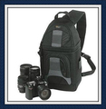 Original Lowepro SlingShot 200 AW Shoulder Digital Camera Bag SS200 DSLR Backpack with All Weather Cover