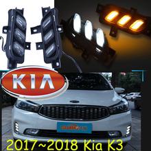Buy 2017~2018 Cerato daytime light,LED,Free ship!2pcs,car-detector, k3 fog lamp,car-covers,k3 day light,sedona,Forte,sportageR,K2 K5 for $60.00 in AliExpress store