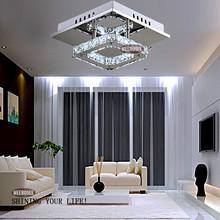Platz geführt kristall kronleuchter licht für Gang Veranda Flur treppe wth led glühbirne 12 watt 100% Garantie(China (Mainland))