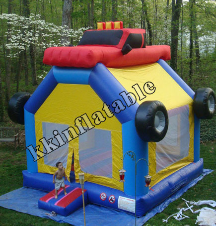 Hot Sale Funny School Bus Inflatable Bouncer For Kids(China (Mainland))