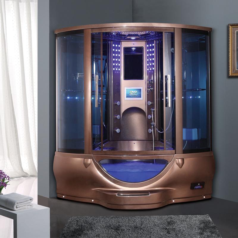 hs sr022 double seat steam room hydro massage steam shower