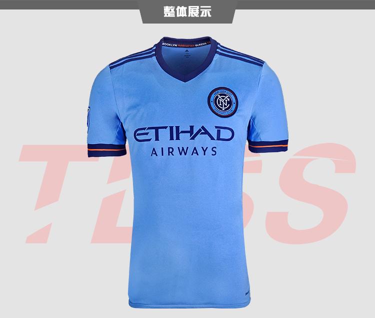 NEW YORK CITY 2017 DAVID VILLA LAMPARD PIRLO CUSTOMIZED soccer uniform kits soccer jerseys thai quality thailand quality 66(China (Mainland))