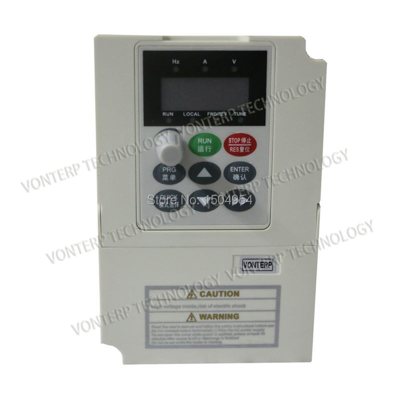 Variable Frequency Drive VFD Inverter 2.2KW   380V 5.1A   AC Motor Speed Controller<br><br>Aliexpress