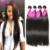 7А Бразильского Виргинские Волос Прямо Человеческих Волос Weave 4 Связки Прямой Девы Волос Rosa Продукты Волос Бразильские Прямые Пучки