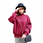 New 2016 Autumn Winter Hoodies Women Plus Size Thicken Warm Sweatshirt Solid Color Pullover Casual Mujer Female Sudadera Hoodies(China (Mainland))