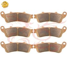 Sintered Copper Motorcycle parts motorbike front & rear brake pads for HONDA ST1300 ST1300 ABS 2002-2009 brake disks