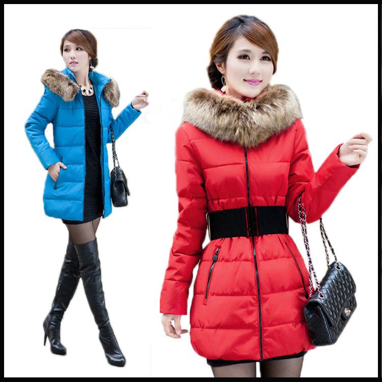Free shipping  2014 New Womens Cotton-padded Jacket  Women Outerwear  medium style Winter Coat  Women slim coat 64Одежда и ак�е��уары<br><br><br>Aliexpress