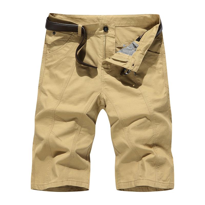 Bermuda Shorts Men Brand Men Shorts Casual Slim Fit Youths Men Beach Shorts Homme Sports Basketball Cargo Shorts Khaki Black(China (Mainland))