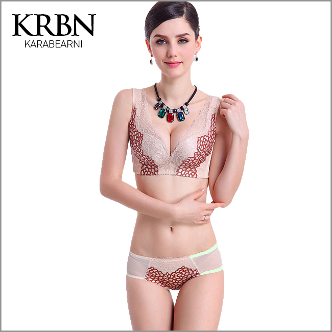 women underwear 2015 women clothes push up bra print convertible Embroidery adjusted-straps back closure lace sexy bra 8393(China (Mainland))