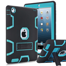 For Apple iPad 2 iPad 3 iPad 4 Case Cover High Impact Resistant Hybrid Three Layer Heavy Duty Armor Defender Full Body Protector(China (Mainland))