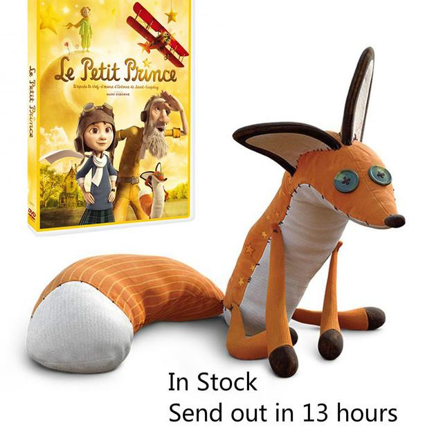 16 inch/24 inch Фильм Маленький Принц Маленький Принц Фокс Плюшевые Куклы Мягкие Игрушки игрушка для образования ребенка
