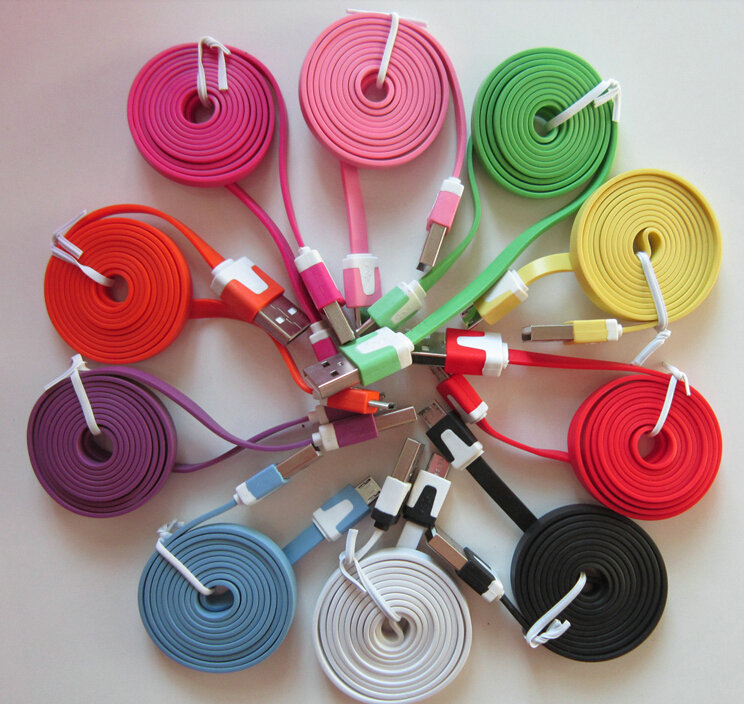 2014 new Hot Colorful USB 2.0 data cable for ZTE Blade G V880G Grand X Pro Leo M1 V883m V972M LEO S1 Z7mini Z7 max(China (Mainland))
