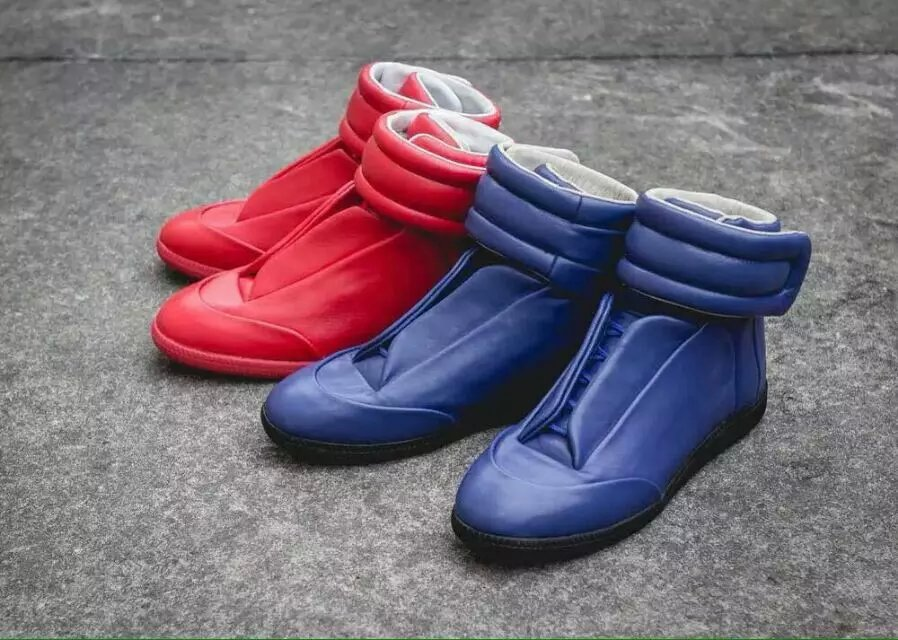 Фотография 2016 new male tide shoes fashion red blue Casual Shoes Men