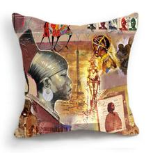 African Tribe Home Decorative Pillow Case Cushion Cover