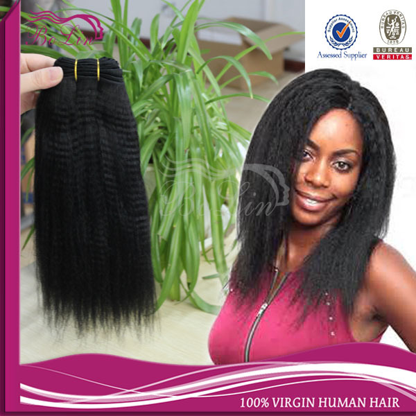 6A Malaysian Kinky Straight Human Hair Weave 3pcs Lot Coarse Yaki Virgin Human Hair Italian yaki Cheap Kinky Straight Hair