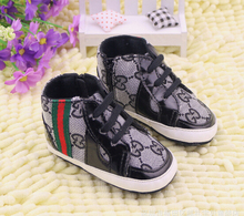 new 2016 baby shoes fashion soft bottom baby boy girl shoes anti-slip a toddler shoes sapato bebe us size 5,6,7 bebes(China (Mainland))