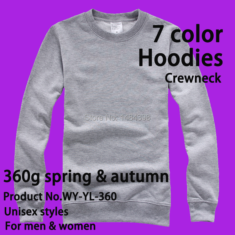 360g O-neck Custom Hoodie / Custom Sweatshirts / Get Your Own Designed Hoodies & Sweatshirts image & logo printing embroidered(China (Mainland))