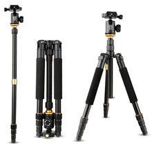 Buy 2017 New Q999S Photography Tripod Professional Portable Aluminum Ball Head+Tripod Monopod Canon Nikon Sony DSLR Camera for $58.20 in AliExpress store
