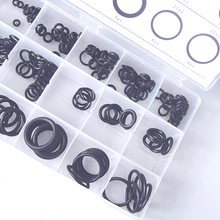 225PCS Hot Sale Rubber O Ring O-Ring Washer Seals Assortment Black 18 Sizes Free Shipping(China (Mainland))