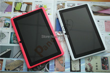 7 inch Q88 quadcore tablet pc with Allwinner A33 dual camera with Android 4 4 support