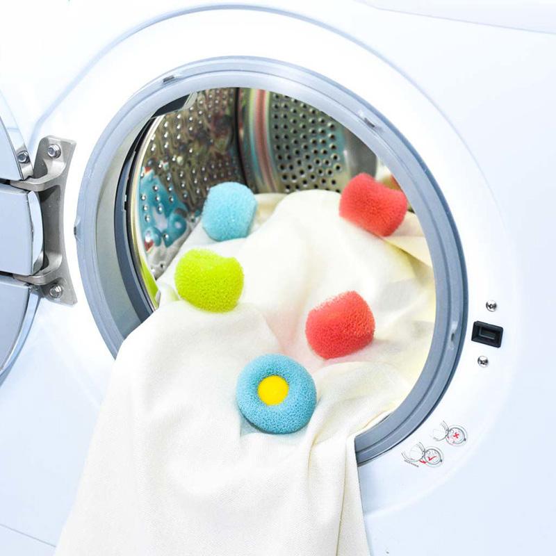 1pcs High Quality Washing Ball Laundry Anti Wind Washing Ball Preventing Cleaning Cleaner Magic Washing #87451(China (Mainland))