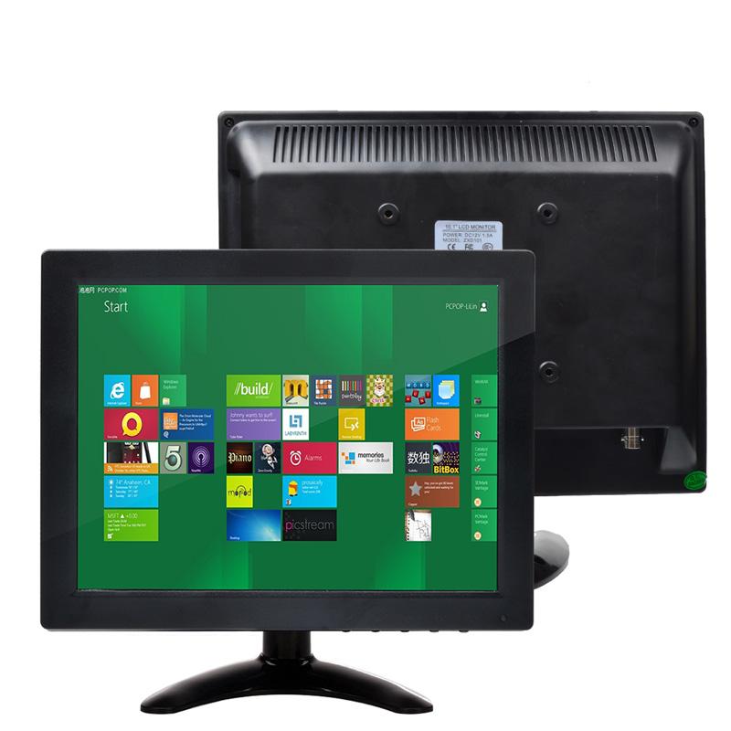 "10"" TFT LCD 4:3 Car Monitor HD 800*600 Color RCA VGA BNC HDMI Monitor Video for PC Security Cam CCTV DVR Backup Rear View(China (Mainland))"